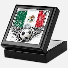 Soccer Fan Mexico Keepsake Box