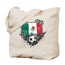 Soccer Fan Mexico Tote Bag