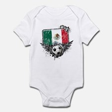 Soccer Fan Mexico Infant Bodysuit