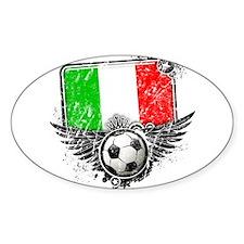 Soccer Fan Italy Decal