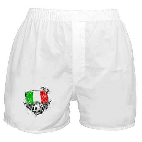 Soccer Fan Italy Boxer Shorts