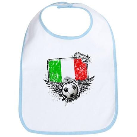 Soccer Fan Italy Bib