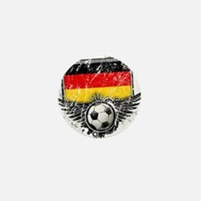 Soccer Fan Germany Mini Button