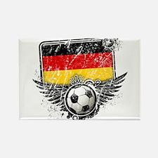 Soccer Fan Germany Rectangle Magnet