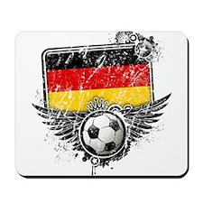 Soccer Fan Germany Mousepad