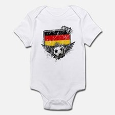 Soccer Fan Germany Infant Bodysuit
