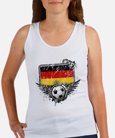 Soccer Fan Germany Women's Tank Top