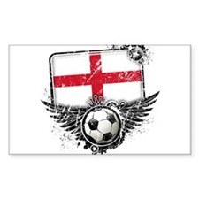 Soccer Fan England Decal