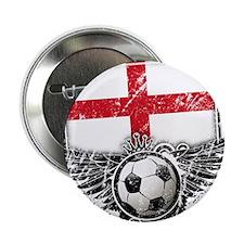 "Soccer Fan England 2.25"" Button (100 pack)"