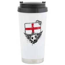 Soccer Fan England Travel Mug