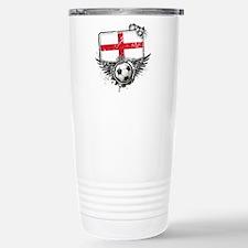 Soccer Fan England Travel Mug