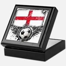 Soccer Fan England Keepsake Box