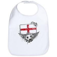 Soccer Fan England Bib