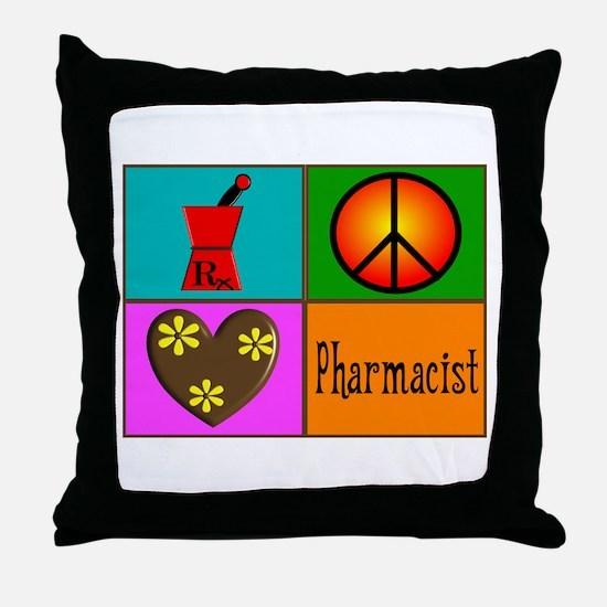 More Pharmacist Throw Pillow