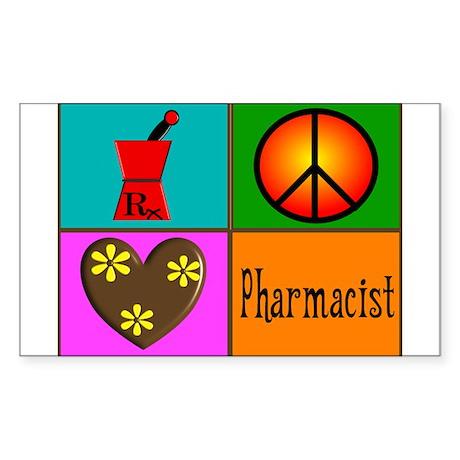 More Pharmacist Sticker (Rectangle)