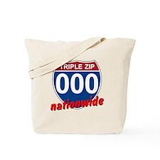 Triple Zip Freeway Tote Bag