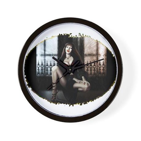 Sexy Vamp Wall Clock