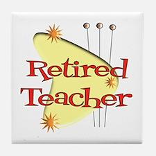 More Retirement Tile Coaster
