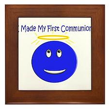 More First Communion Framed Tile