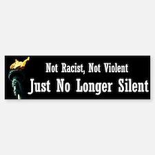 No Longer Silent Bumper Bumper Sticker