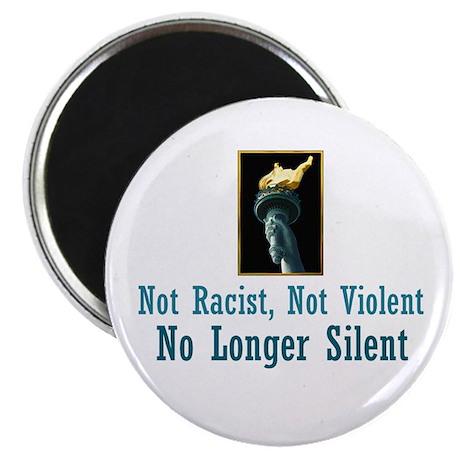 "No Longer Silent 2.25"" Magnet (10 pack)"