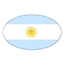 Argentina Flag Decal