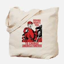 The Obama Red Army of America Tote Bag