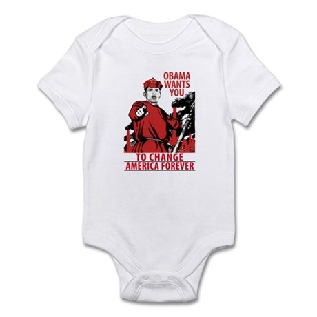 The Obama Red Army of America Infant Bodysuit