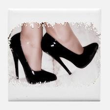 Sexy Shoes Tile Coaster