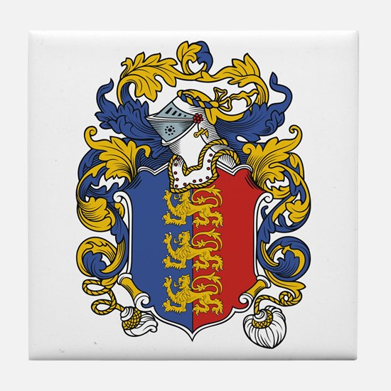 Maddox Coat of Arms Tile Coaster