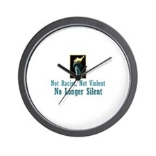 No Longer Silent Wall Clock