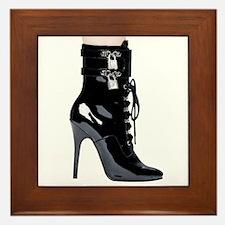 Sexy Boot Framed Tile