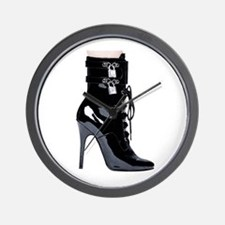 Sexy Boot Wall Clock