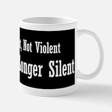 No Longer Silent Mug