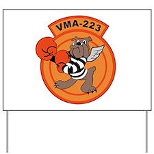 VMA-223 Yard Sign