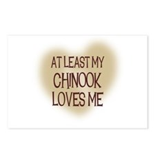 At Least My Chinook Loves Me Postcards (Package of