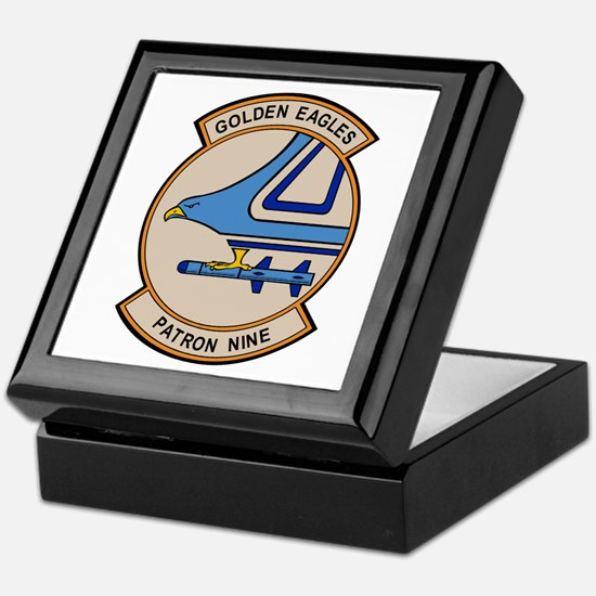 VP-9 Golden Eagles Keepsake Box