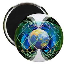 Rainbow Earth Magnet