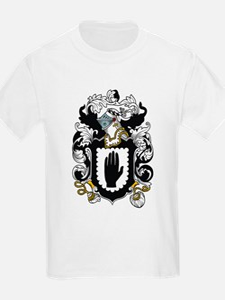Manley Coat of Arms Kids T-Shirt
