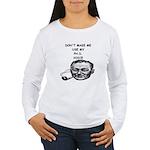 professor joke Women's Long Sleeve T-Shirt
