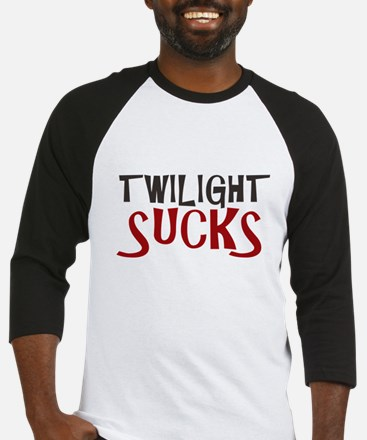 Twilight Sucks Baseball Jersey
