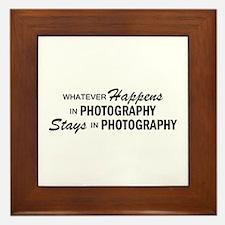 Whatever Happens - Photography Framed Tile