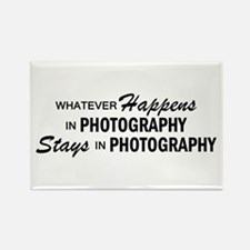 Whatever Happens - Photography Rectangle Magnet
