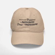 Whatever Happens - Photography Baseball Baseball Cap