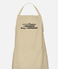 Whatever Happens - Photography Apron