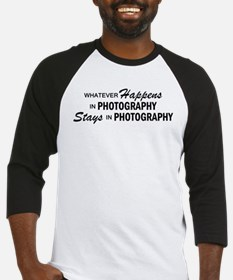 Whatever Happens - Photography Baseball Jersey