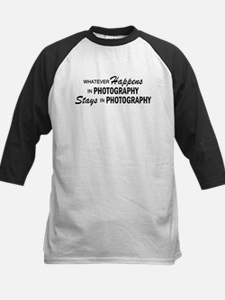Whatever Happens - Photography Kids Baseball Jerse