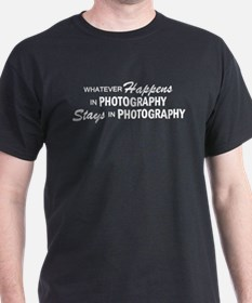 Whatever Happens - Photography T-Shirt