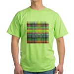 256 Colors Green T-Shirt