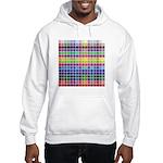 256 Colors Hooded Sweatshirt